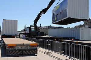 image transport containers de stockage