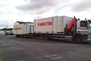 image transport container